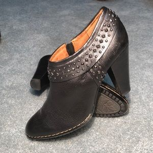 Sofft Shalene Studded Booties - Black - 11M